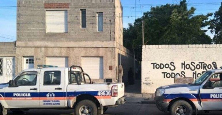 Allanaron una vivienda tras un enfrentamiento con armas