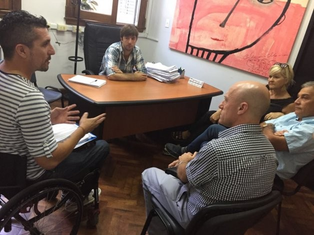 Encuentro y avances sobre transporte público para personas con discapacidad