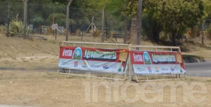 Se suspendió la Feria Agroalimentaria