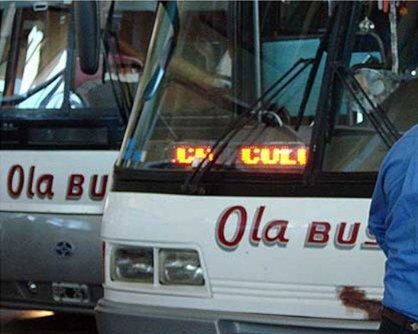 Paro de UTA no afecta al transporte en Olavarría