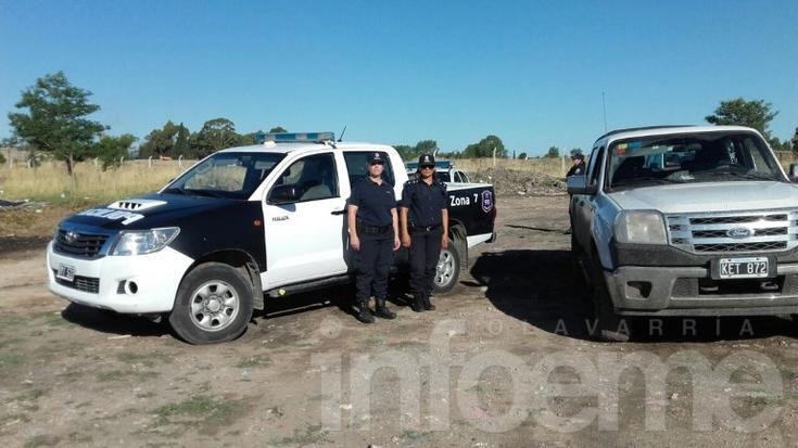 Encuentran en un basural camioneta que había sido robada
