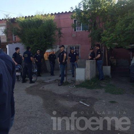 Importante operativo: Grupo Halcón e Infantería realizaron allanamientos en distintas viviendas
