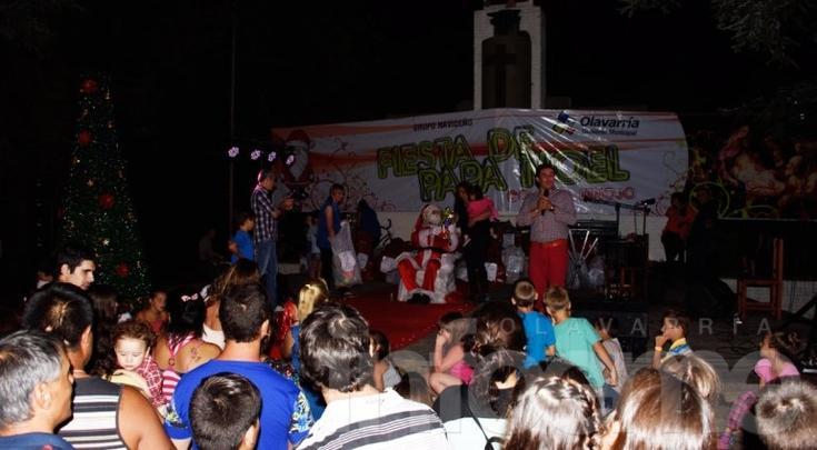 Papá Noel pasó por Colonia Hinojo