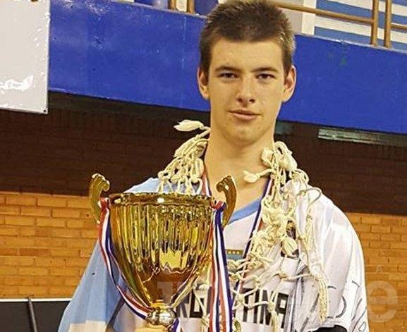 Ignacio Amán en la preselección nacional U16