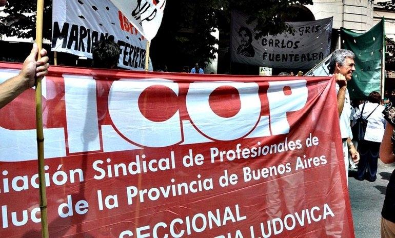 CICOP convocó a una jornada de lucha en 80 hospitales bonaerenses