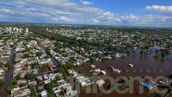 Colecta en nuestra ciudad para inundados en Pergamino