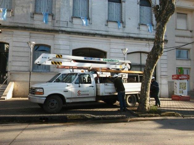 Corte de luz afectó a gran parte de la ciudad durante la tarde