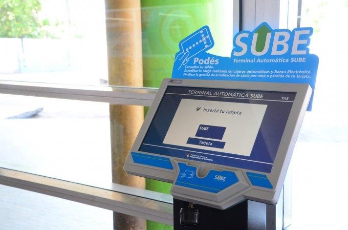 SUBE: nuevos puntos de venta para la carga de tarjetas