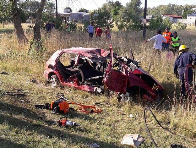 Violento vuelco en Autopista Fortabat: un herido de gravedad