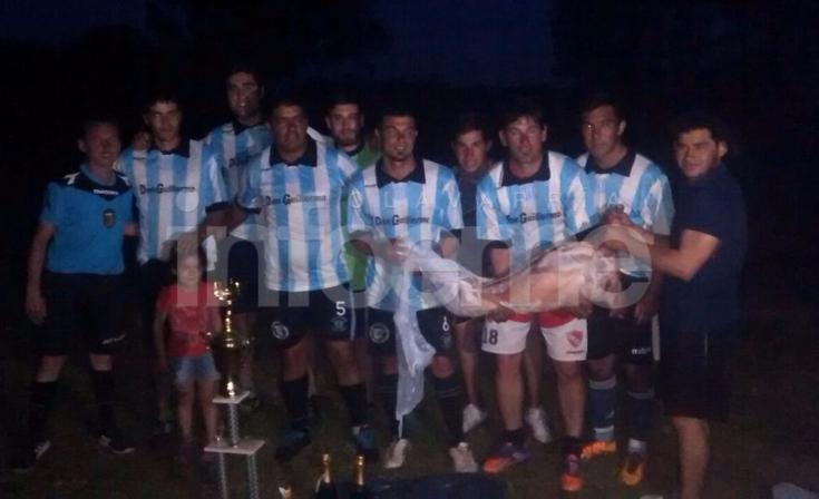 Papi Fútbol solidario en Pourtalé