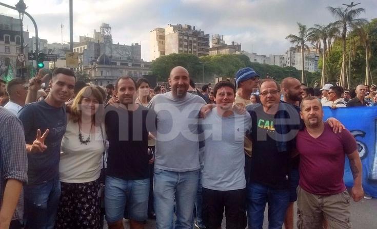 """Concejales participaron de la marcha en """"defensa del estado de derecho"""""""