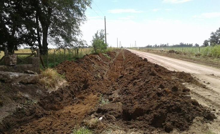 Iniciaron obras de mantenimiento en caminos rurales