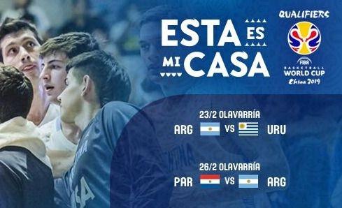 Argentina jugará en Olavarría dos partidos de eliminatorias del Mundial de básquet