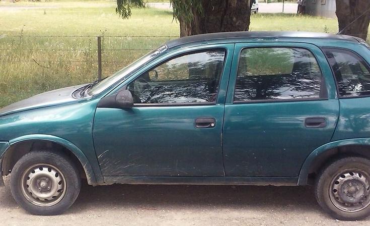 Menor robó un auto y fue aprehendido
