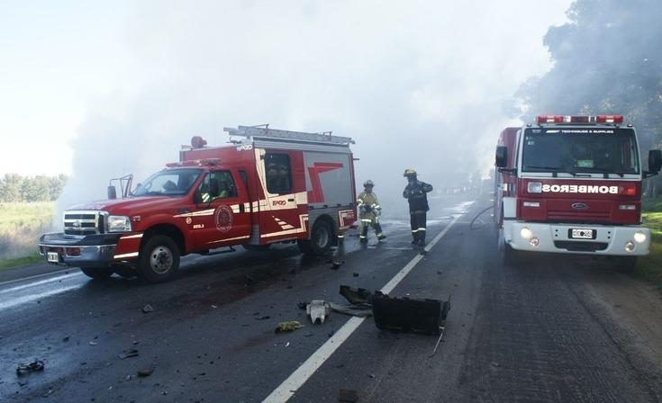 Un olavarriense murió en impresionante accidente en ruta 205