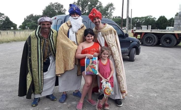 Los Reyes Magos pasaron por Villa Mi Serranía
