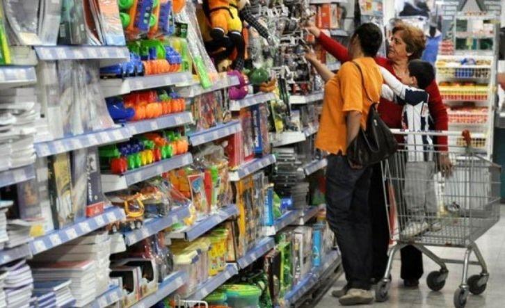 Las ventas minorista en agosto cayeron 18,6%