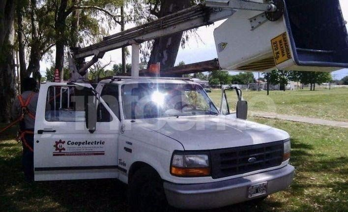 Trabajos de Coopelectric tras el temporal