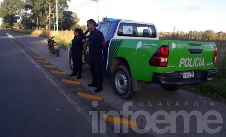 Un motociclista resultó herido tras un accidente con un colectivo