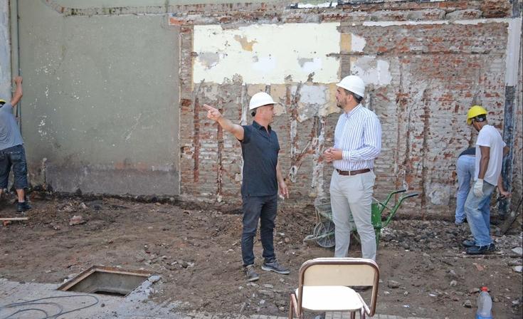 Iniciaron las obras en la Escuela Primaria N°17