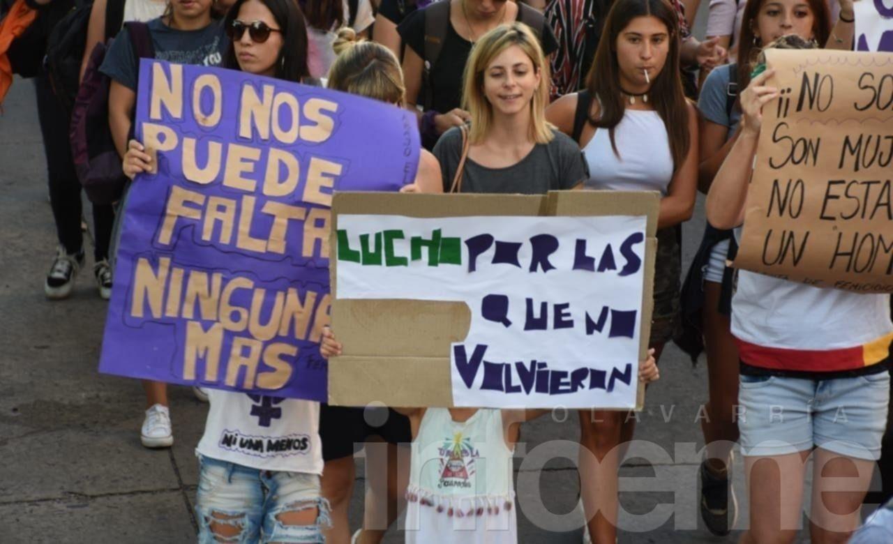 EN VIVO: quinta marcha de Ni Una Menos contra la violencia machista