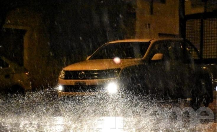 "Se emitió un alerta por ""abundantes precipitaciones"""