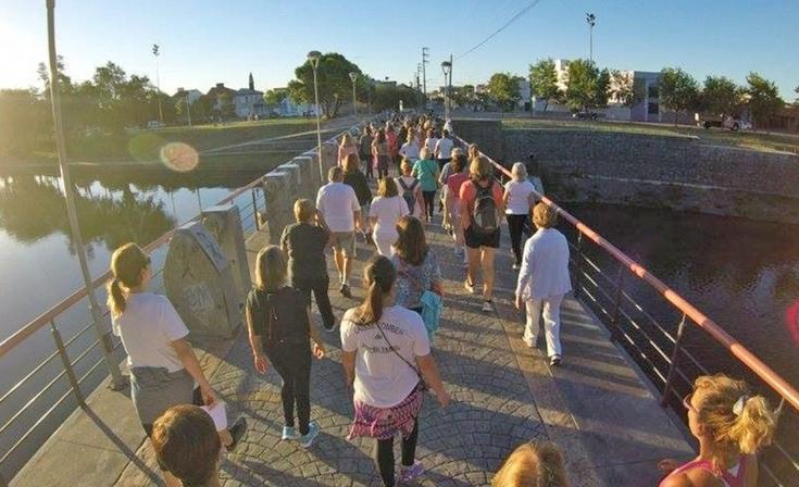 Este martes habrá una caminata yóguica y solidaria