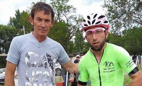 Un ciclista olavarriense sufrió un grave accidente en la Vuelta de San Juan