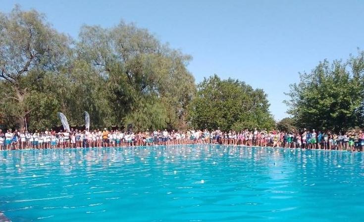 Encuentro de Natación: participaron más de 150 chicos y chicas de la primera jornada