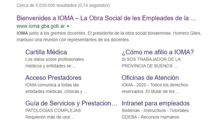El lenguaje inclusivo llegó a la página oficial de IOMA