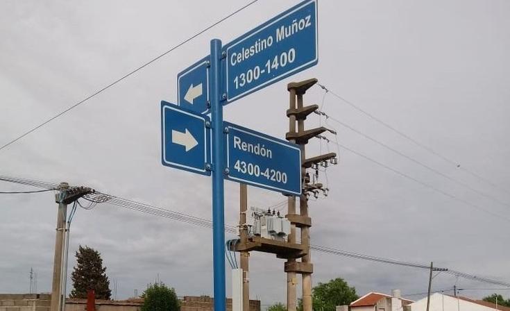 Realizaron tareas de infraestructura vial en distintos puntos de la ciudad