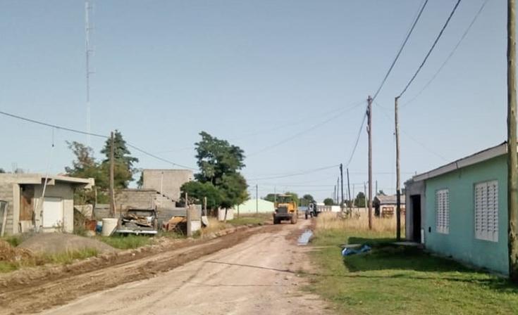 Realizan trabajos de mantenimiento en el barrio Provincias Argentinas