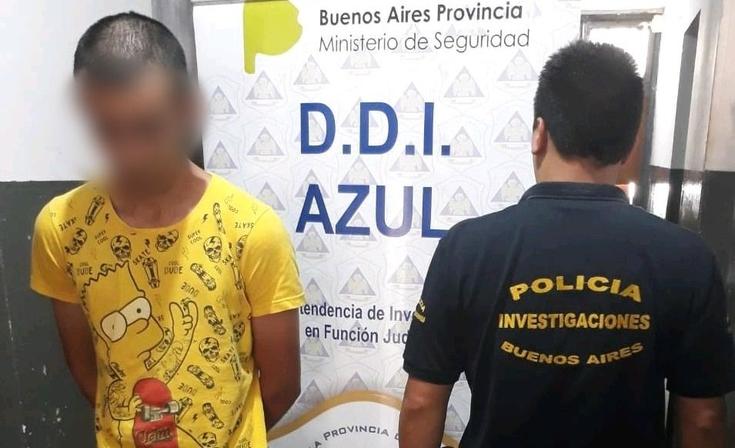Azul: Mataron de un golpe a una  mujer de 81 años para robarle