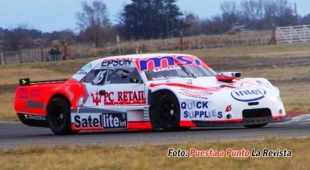 Agustín Herrera fue noveno en su debut en el TC Mouras