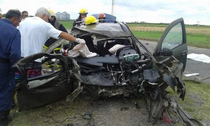 Camionero olavarriense involucrado en fatal accidente en Pehuajó
