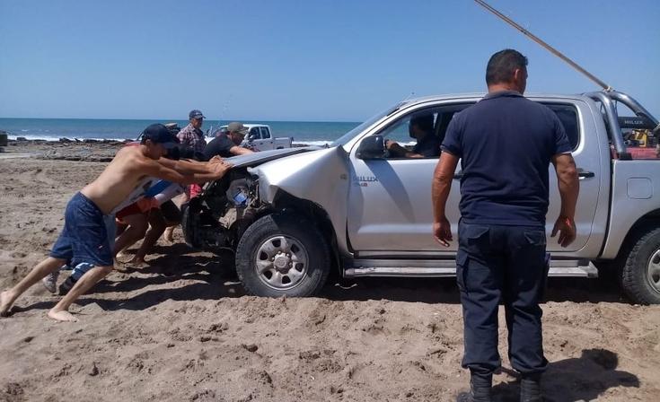 Una familia olavarriense involucrada en un choque en las playas de Claromecó