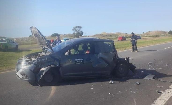Ruta 11: impactante choque con 20 autos implicados y 12 heridos