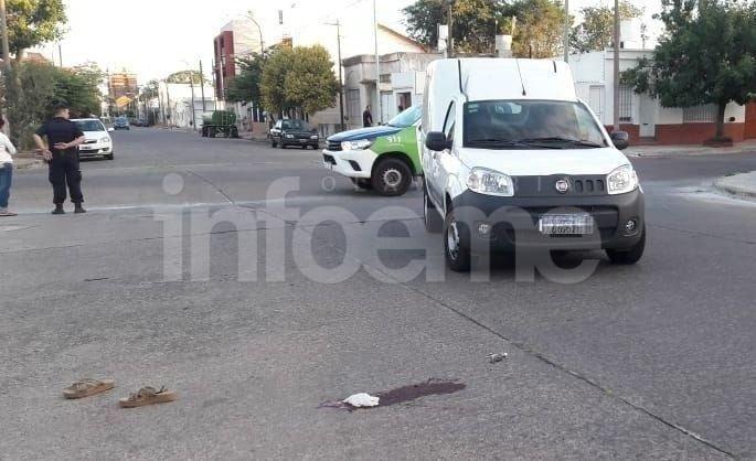 Pueblo Nuevo: una mujer fue atropellada y resultó gravemente herida