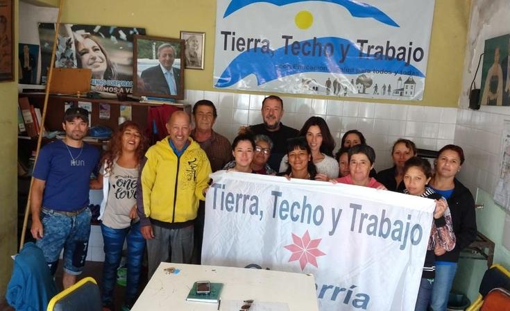 Tierra Techo y Trabajo se sumó al pedido de la Paritaria Social