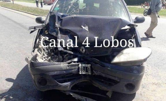 Ruta 205: una mujer herida en un fuerte accidente