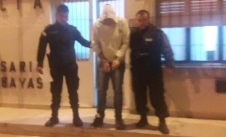 Rompió una restricción de acercamiento, amenazó a la policía y lo aprehendieron
