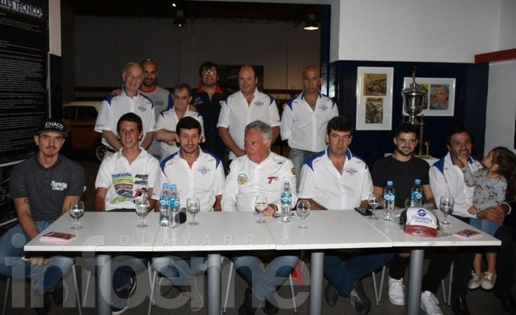 Se presentó la carrera del Turismo Pista en Olavarría