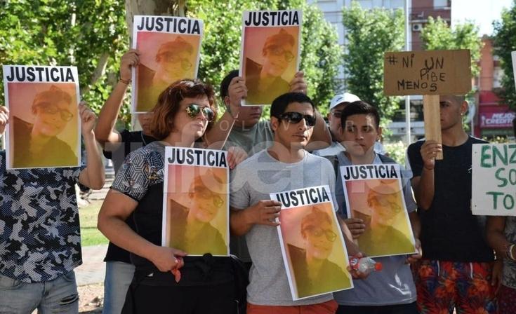 Nueva marcha en reclamo de justicia por Enzo Marconi