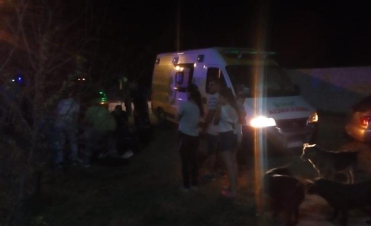 Dos niños heridos tras un fuerte accidente