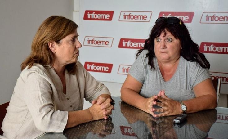 "Alejandra Capriata: ""Estamos luchando para tener libertad sindical"""