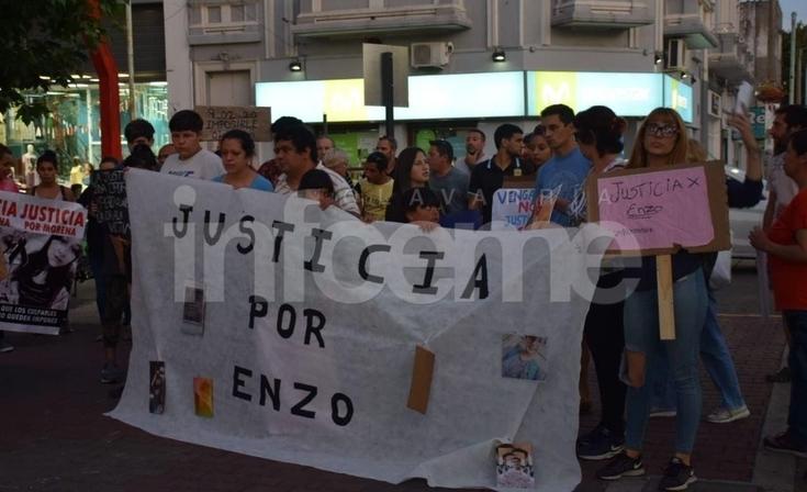 Familiares de Enzo Marconi volvieron a marchar y reclamaron justicia