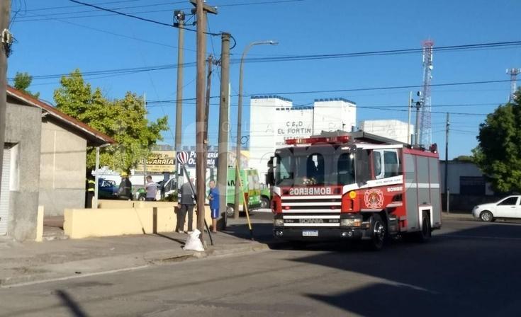 Asistieron a una mujer por inhalación de humo tras un principio de incendio