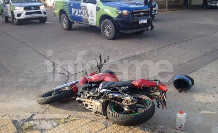 Choque en Microcentro: dos motociclistas trasladados al Hospital