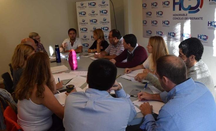 Transporte público: Hilario Galli se reunió con concejales