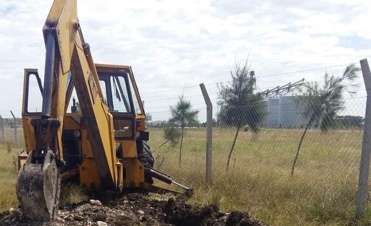 Finalizó la extensión de la red eléctrica en el Parque de Granos